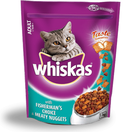 Adult 1 year plus Fisherman's Choice Meaty Nuggets 1kg | WHISKAS®
